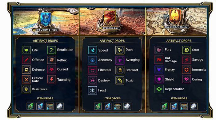 """Raid Shadow Legends Guide Artifact Dungeons """"width ="""" 702 """"height ="""" 392 """"srcset ="""" https://www.bluemoongame.com/wp-content/uploads/2019/10/Raid-Shadow-Legends-Guide-Artifact- Dungeons.jpg 702w, https://www.bluemoongame.com/wp-content/uploads/2019/10/Raid-Shadow-Legends-Guide-Artifact-Dungeons-300x168.jpg 300w """"size ="""" (larghezza massima: 702px) 100vw, 702px"""
