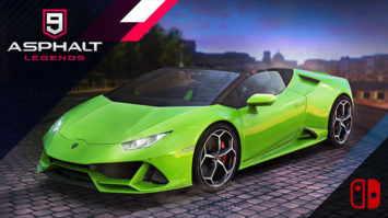 Asphalt 9 Legends Coming to Switch