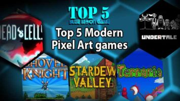 Top 5 modern pixel art games