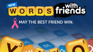 Words With Friends Join Breast Cancer Awareness Month