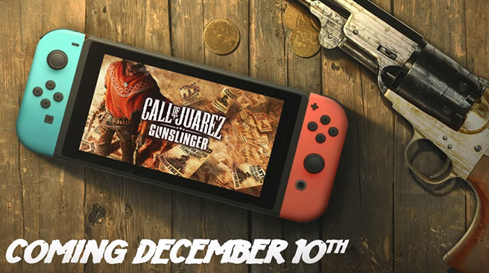 Call of Juarez entra nelle pistole di Nintendo Switch