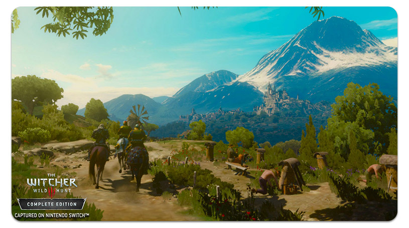 L'interruttore Witcher 3