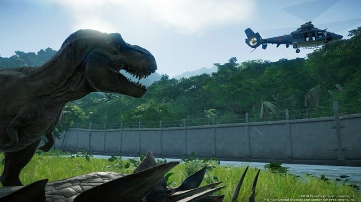 Jurassic World Evolution diventa Jurassic Park