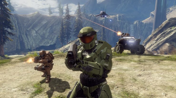 "Halo Combat ha evoluto il primo volo in arrivo su PC ""After The Holiday"""