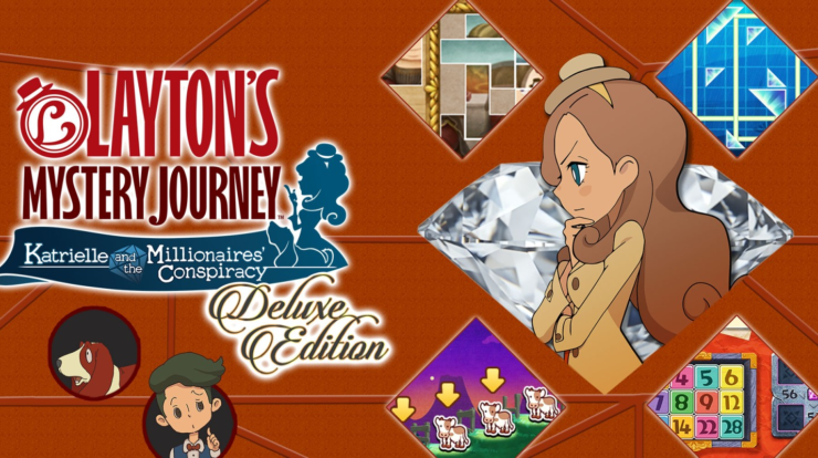 Mystery Journey di Layton: Katrielle and the Millionaires & # 039; Cospirazione - Edizione Deluxe Recensione