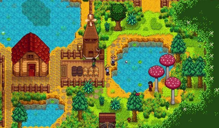 Multigiocatore di Stardew Valley