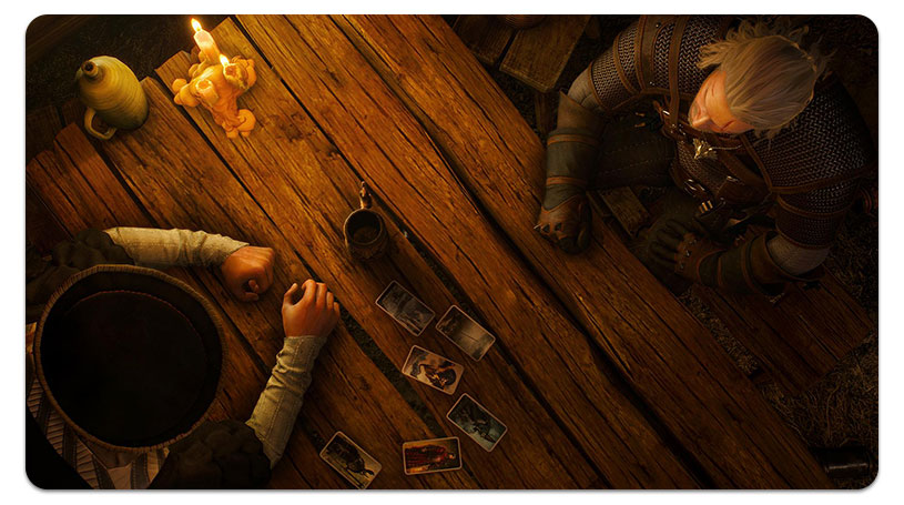 Witcher 3 carte Gwent