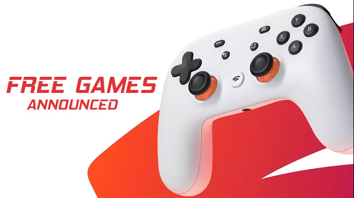 Stadia Free Games January