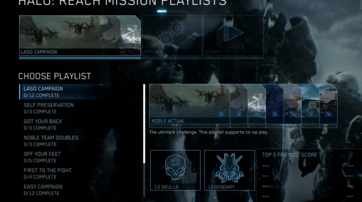 Che cos'è LASO in Halo: Reach?