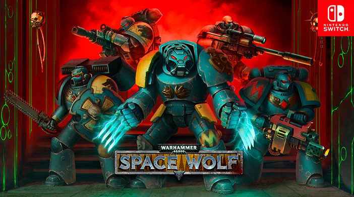 Warhammer - Space Wolf Switch