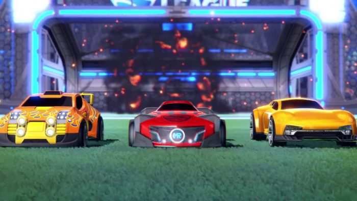 DLC Hot Wheels di Rocket League