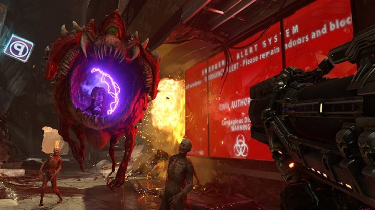 DOOM Eternal Video Review - Allacciate le cinture, è F ** king Bananas
