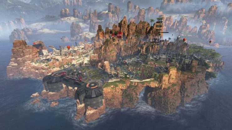 Sostituzione del sistema Restituisce Kings Canyon a Apex Legends