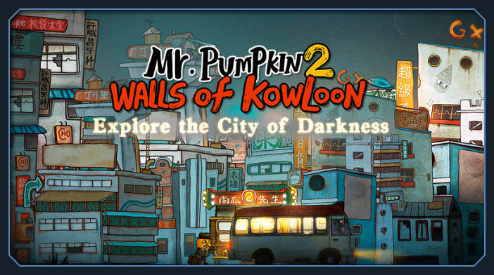 Mr. Pumpkin 2 Walls of Kowloon