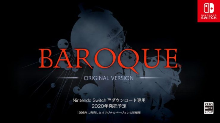 Sega Saturn's Baroque In arrivo su Nintendo Switch
