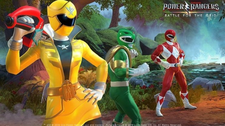 Stagione 3 in arrivo su Power Rangers: Battle for the Grid