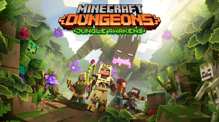 Come sbloccare Panda Plateau in Minecraft Dungeons Jungle Awakens DLC