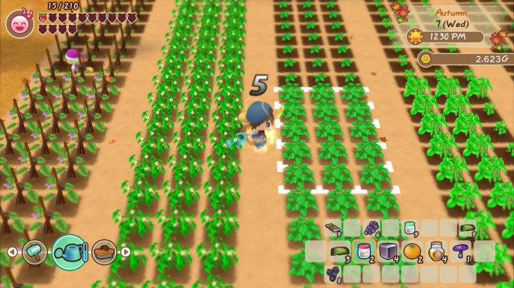 Come piantare colture in Story of Seasons: Friends of Mineral Town