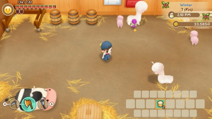 Dove trovare animali per la tua fattoria in Story of Season: Friend of Mineral Town