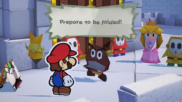 Paper Mario: The Origami King Video Review - Bendable Heaven
