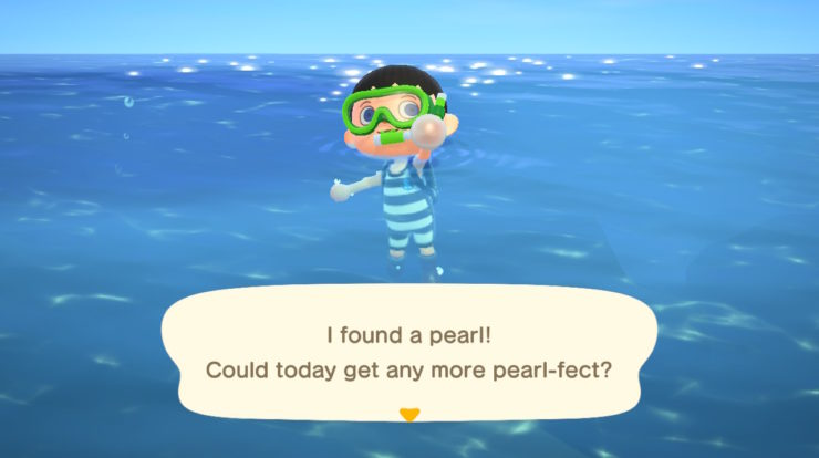 Come ottenere perle in Animal Crossing: New Horizons