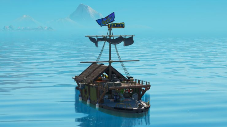Come trovare la barca del bottino segreta in Fortnite Chapter 2 Stagione 3