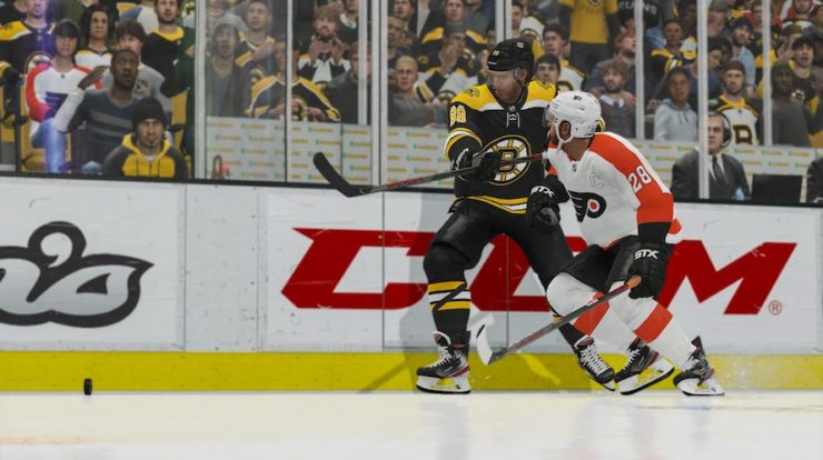 EA Sports NHL 21 ha bisogno di un po 'di fortuna