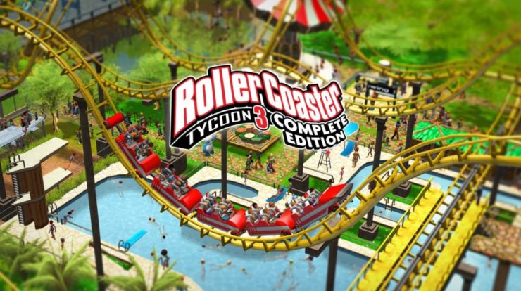 Roller Coaster Tycoon 3: Complete Edition in uscita domani
