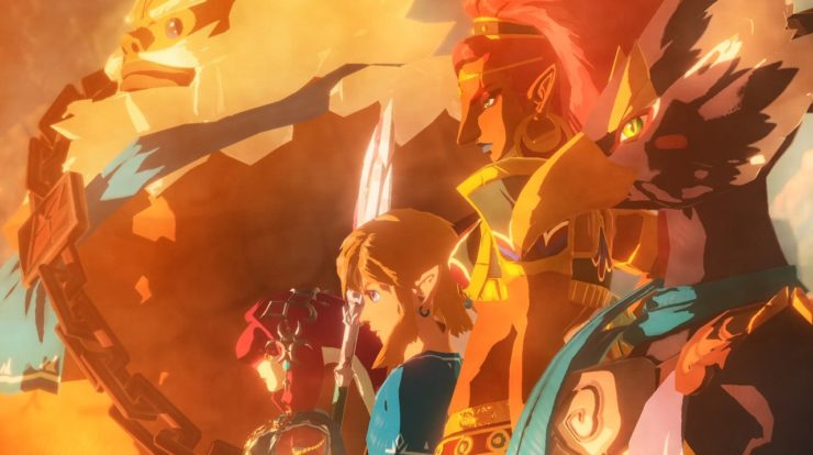 What characters can I play as in Hyrule Warriors: Age of Calamity?